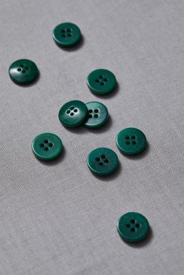 Plain Corozo Button 15 mm - Frog