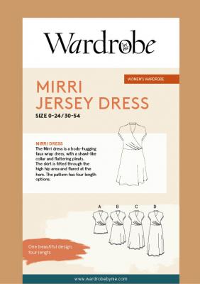 Mirri Faux Wrap Dress