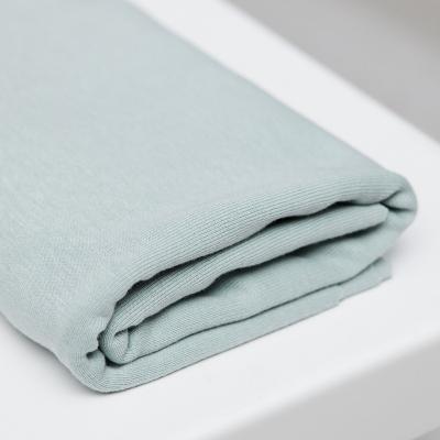 Fine Rib Jersey - Blue Mist