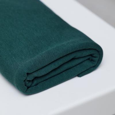 Fine Rib Jersey - Emerald