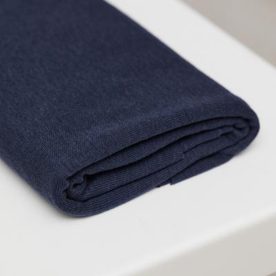 Fine Rib Jersey - Blueberry