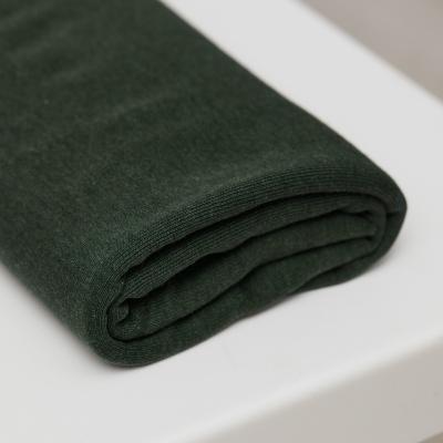 Fine Rib Jersey - Deep Green