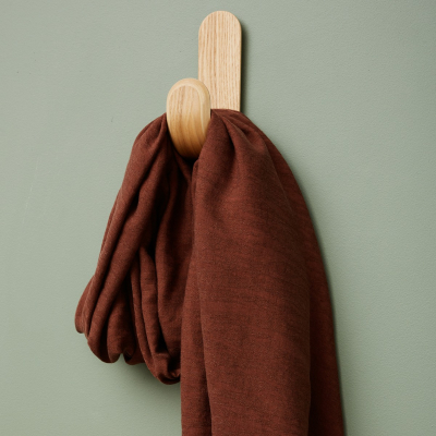 Hoya Jacquard Linen Blend - Pecan