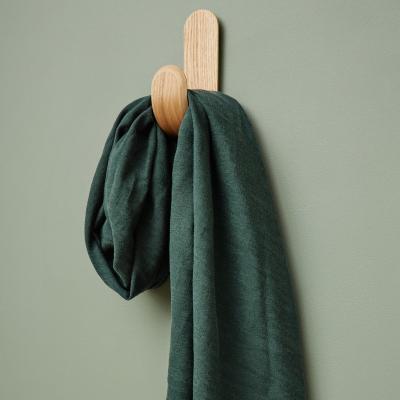 Hoya Jacquard Linen Blend - Deep Green