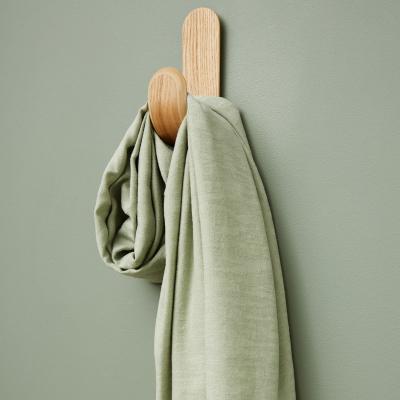 REMNANT 35x150 // Hoya Jacquard Linen Blend - Soft Mint