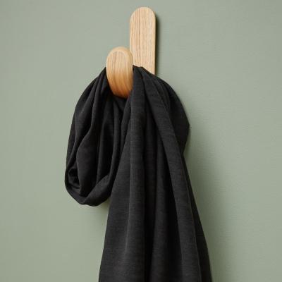 Hoya Jacquard Linen Blend - Black
