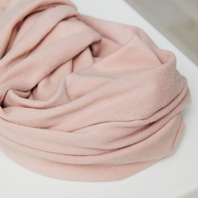 Light Terry Sweat - Powder Pink