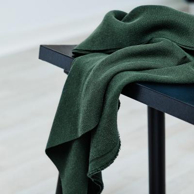 REMNANT 55x145 // Mara Linen Blend - Deep Green
