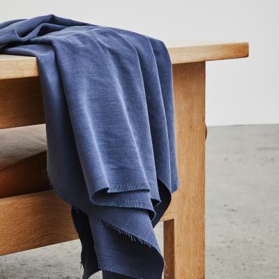 REMNANT 55x150 // Sera Weighty Cotton Blend - Blueberry