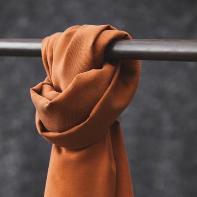 REMNANT 55x150 // Smooth Drape Twill - Rust