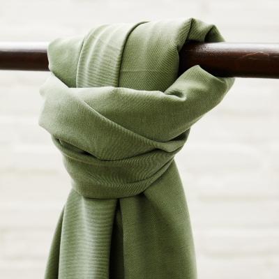 Soft Stretch Twill - Moss