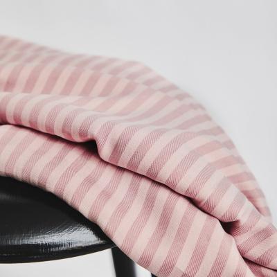 Two-Tone Stripe Twill - Puff