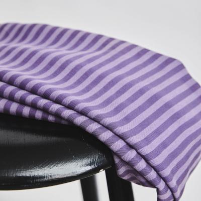 Two-tone Stripe Twill - Mauve