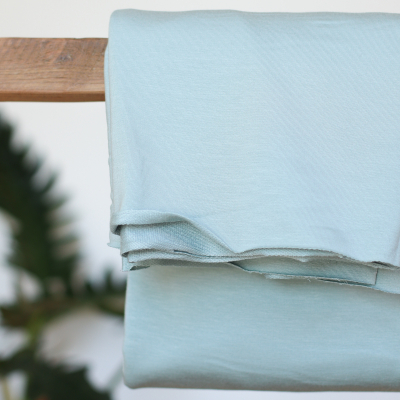 REMNANT 45x150 // Light Terry Sweat - Blue Mist