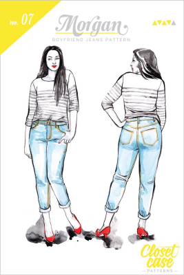Morgan Boyfriend Jeans from Closet Case Patterns