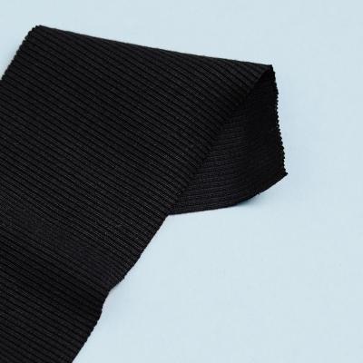 Organic 2x1 Rib - Black