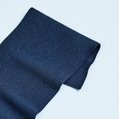 Organic 2x1 Rib - Dust Blue
