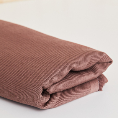 Linen/Cotton Twill - Old Rose