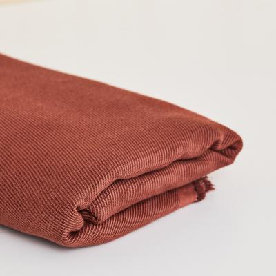 REMNANT 105x140 // Linen/Cotton Twill - Sienna