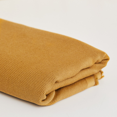REMNANT 60x150 // Linen/Cotton Twill - Dry Mustard
