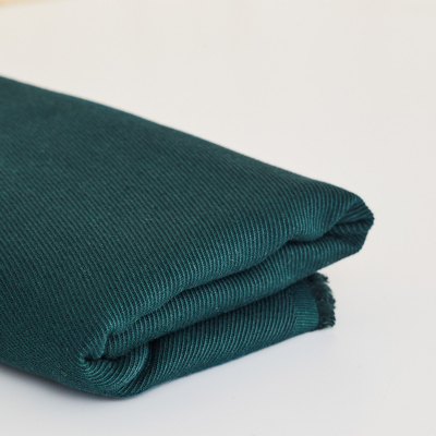 Linen/Cotton Twill - Bottle Green