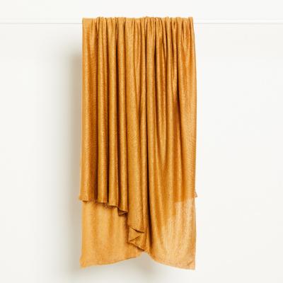 Fine Linen Knit - Dry Mustard