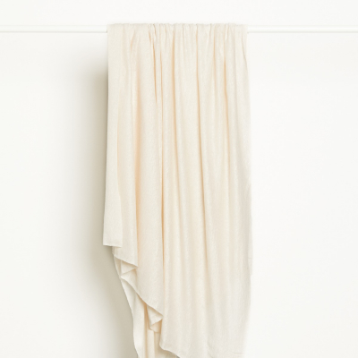 Fine Linen Knit - Creamy White