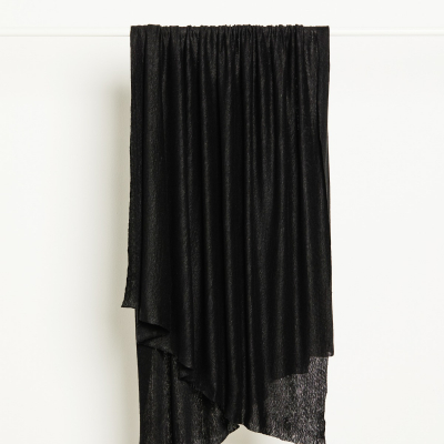 Fine Linen Knit - Black