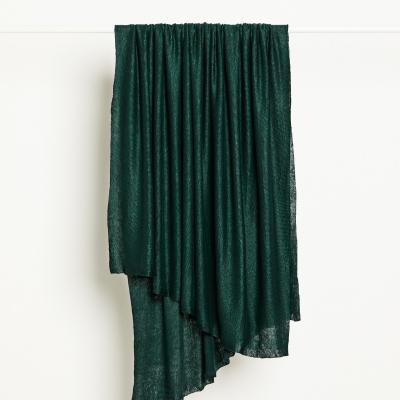 Fine Linen Knit - Bottle Green