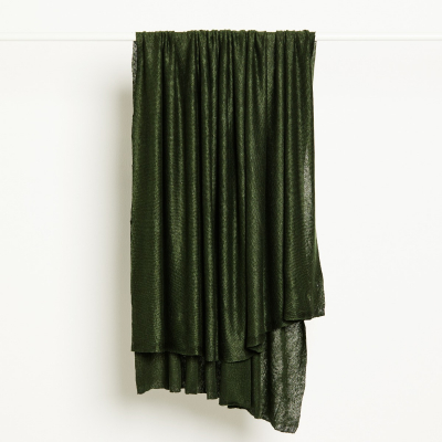 Fine Linen Knit - Green Khaki