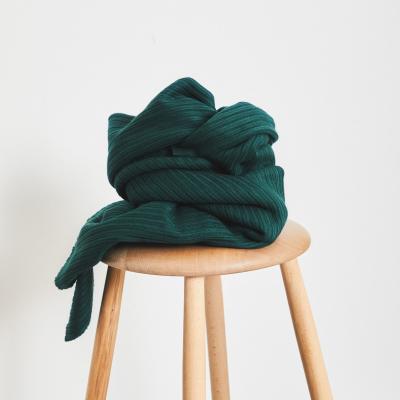 Organic Selanik Knit - Bottle Green
