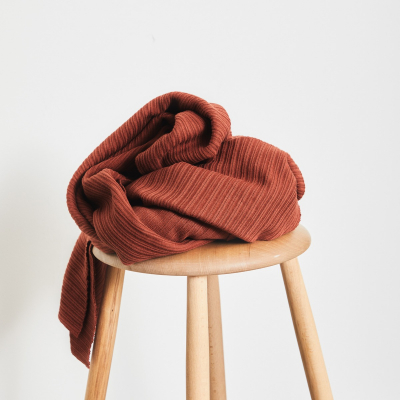 Organic Selanik Knit - Sienna
