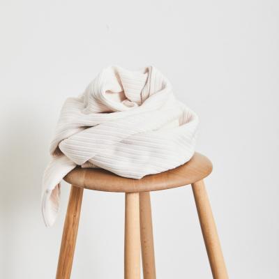 Organic Selanik Knit - Creamy White