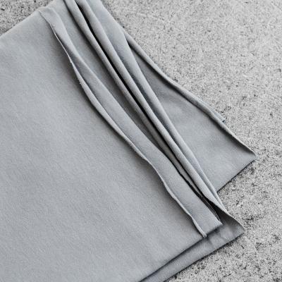 Organic Single Stretch Jersey - Stone