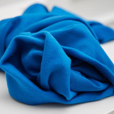 Organic Basic Brushed Sweat - Intense Blue