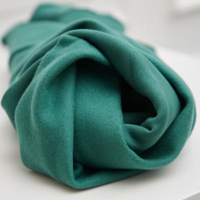 Organic Basic Brushed Sweat - Chalky Green
