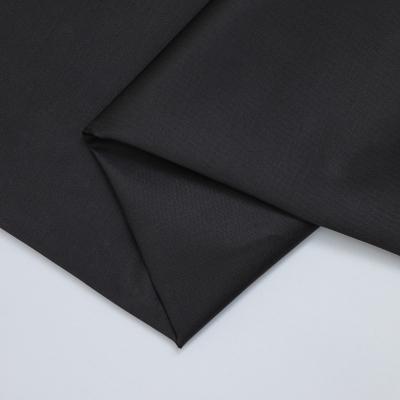 Organic Cotton Stretch Twill - Black