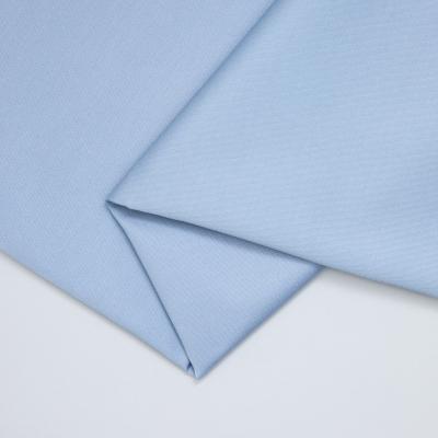 Organic Cotton Stretch Twill - Faded Blue