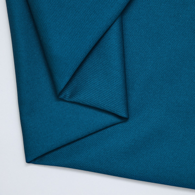 REMNANT 30x160 // Organic Cotton Twill - Ocean