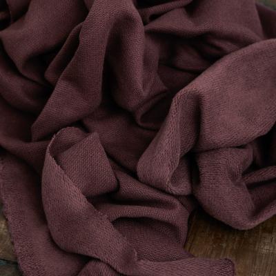 Organic Woolen Fleece Sweat - Grape