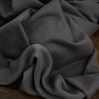 Organic Woolen Fleece Sweat - Calm Grey
