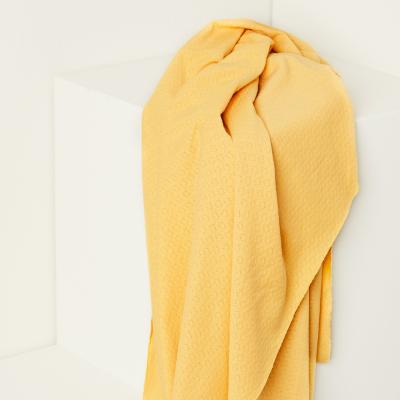Organic Gem Pointelle - Blonde Yellow
