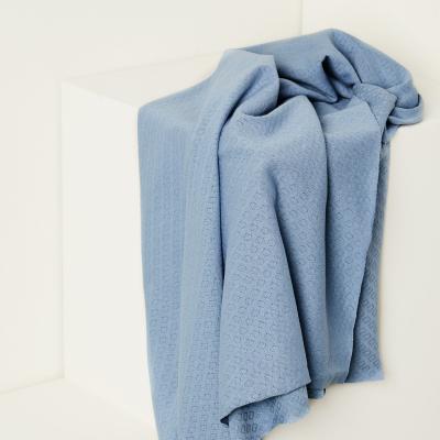 Organic Gem Pointelle - Faded Blue