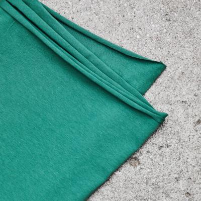 Organic Single Stretch Jersey - Chalky Green