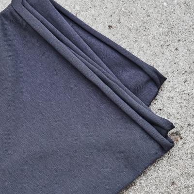Organic Single Stretch Jersey - Calm Grey