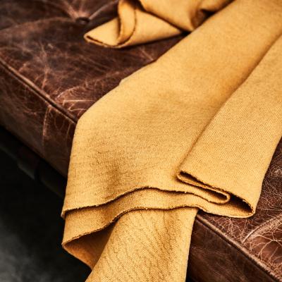 Organic Woolen Mold Sweat - Dry Mustard