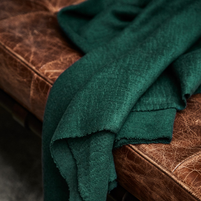 Organic Woolen Mold Sweat - Bottle Green