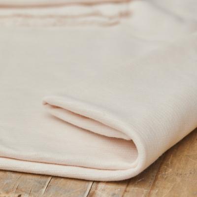 REMNANT 50x150 // Organic Woolen Ottoman - Creamy White