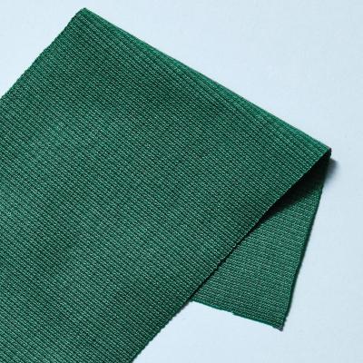 Organic 2x1 Rib - Chalky Green