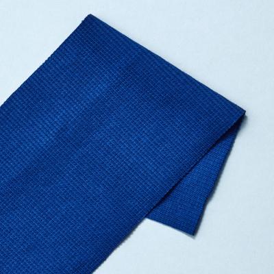 Organic 2x1 Rib - Intense Blue